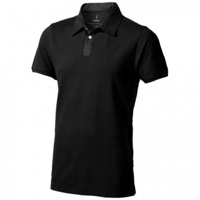 York Poloshirt, schwarz, XS