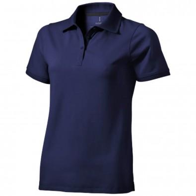 81db35d91e4a0f Yukon Damen Poloshirt blau   S
