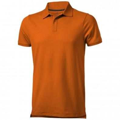 Yukon Poloshirt orange | L