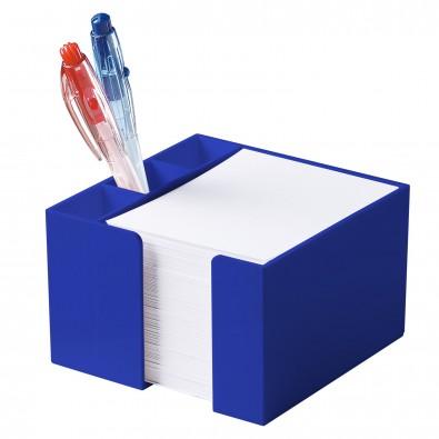 Zettelbox Stifteköcher, standard-blau PP