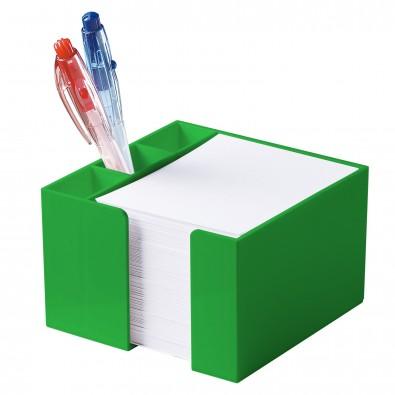 Zettelbox Stifteköcher, standard-grün