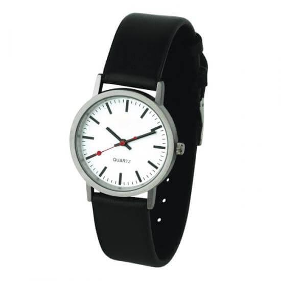 werbeartikel bahnhofs armbanduhr werbemittel bedrucken bei bettmer. Black Bedroom Furniture Sets. Home Design Ideas