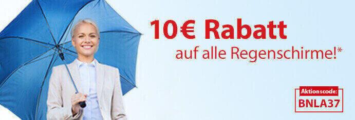 Regenschirm-Aktion KW37