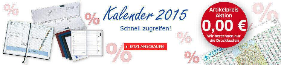 Reduzierte Kalender