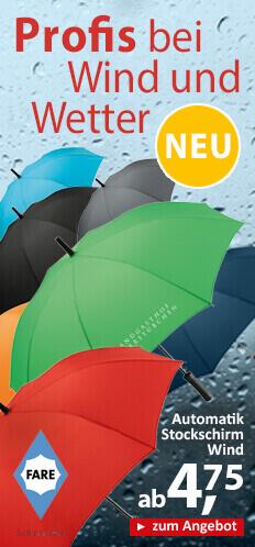 Regenschirme-Werbeartikel