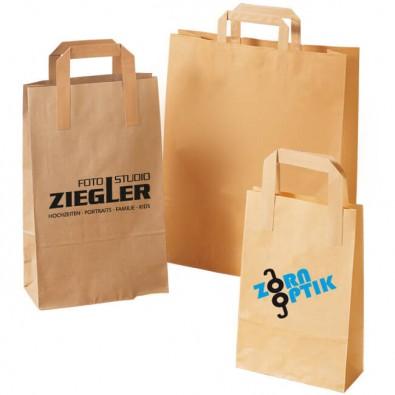 Papiertaschen bedrucken bei WerbeTOPshop